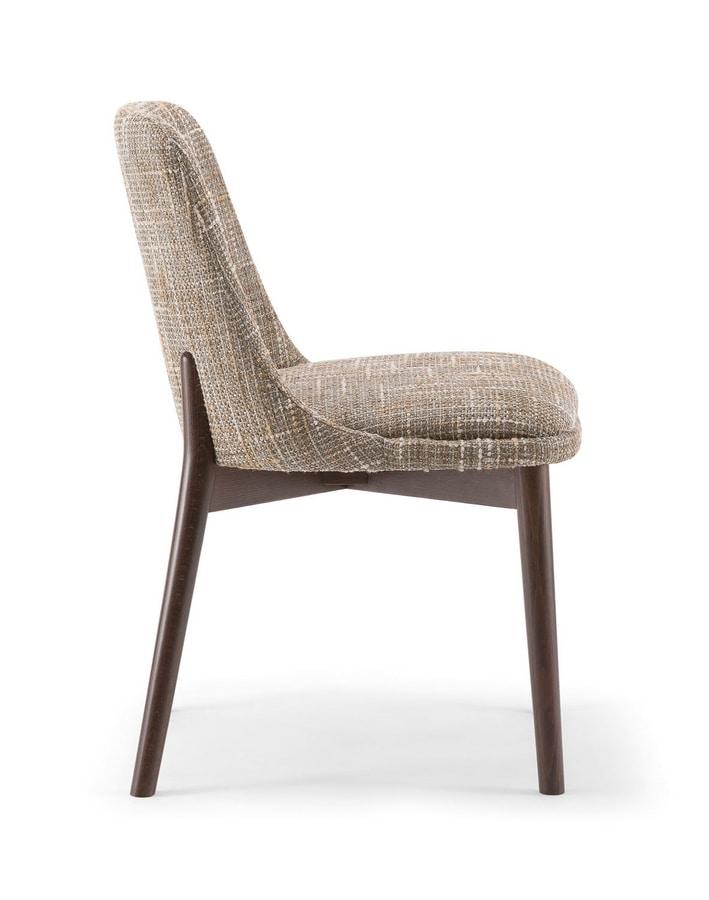CELINE SIDE CHAIR 077 S, Elegant design chair