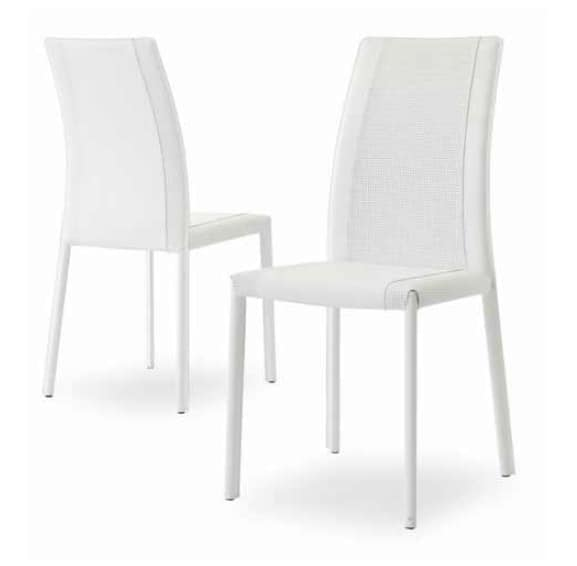 Giselle-IN, Comfortable padded chair with high backrest