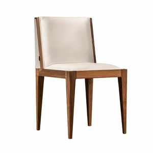 Malibù 5193/F, Chair with particular handle carved in wood