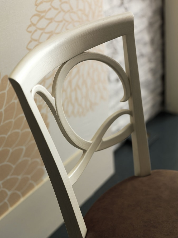 New Age Art. NA042, Chair with delicate lines