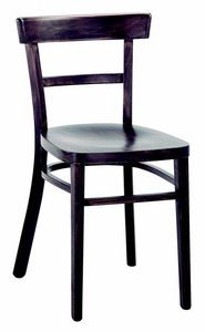3042 A4, Wooden restaurant chair