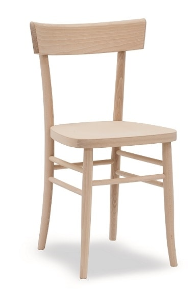 317, Chair in solid beech wood
