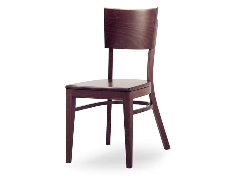 A2, Wooden chair without armrests