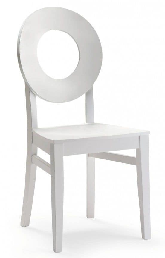 C24, Wooden chair in a modern style for contract and domestic use