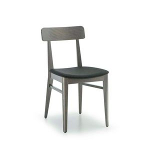C68, Wooden chair for bars and restaurants