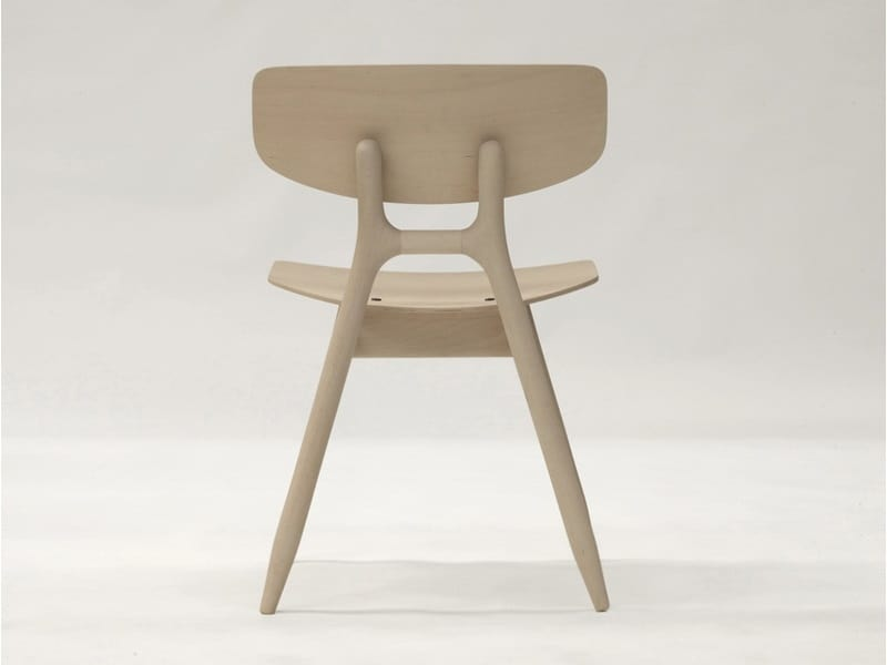 Eco 500M, Stackable wooden chair