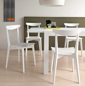 Eva, Wooden chair for kitchen