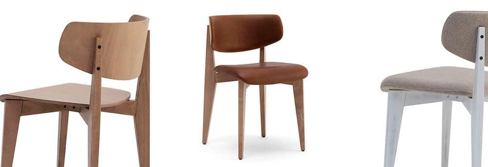 KSENIA, Wooden chair for bars, restaurants and dining rooms