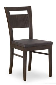 Lory, Chair with comfortable padded seat