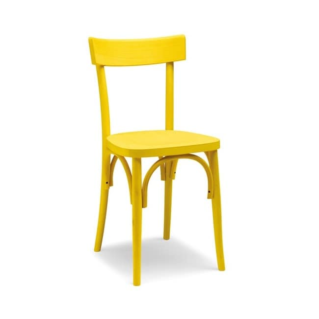 Milano archi, Simple bentwood chair for bars and taverns