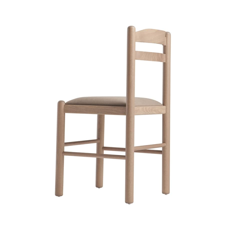 RP403, Wooden chair with simple design