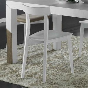 Spazio Contemporaneo SPAZE1071, Chair in solid ash wood