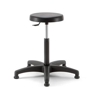 Duke 02, Stool with height adjustable seat