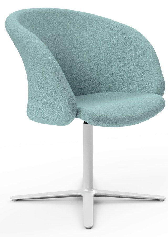 Junea, Upholstered armchair for hotels and communities