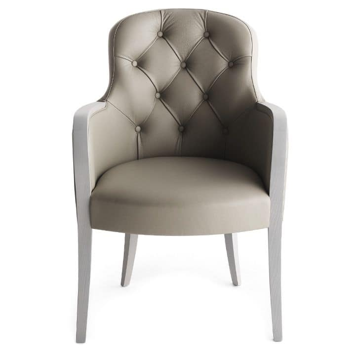 Euforia 00132K, Rafined armchair for high level restaurants and hotel