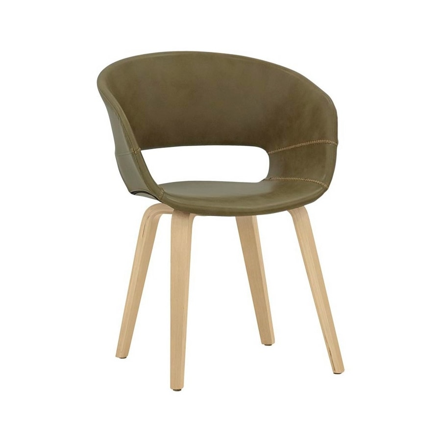 7851, Chair covered in eco-leather