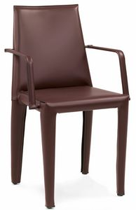Dab chair with armrest 10.0151, Comfortable chair with armrests