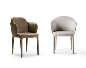 Manda Plus small armchair, Elegant and refined small armchair