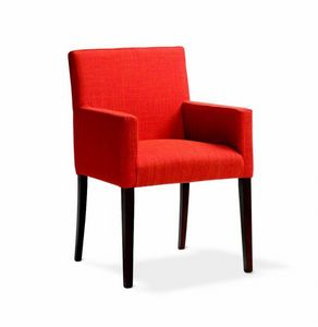 242 Relax/P, Stuffed small armchair for hotels