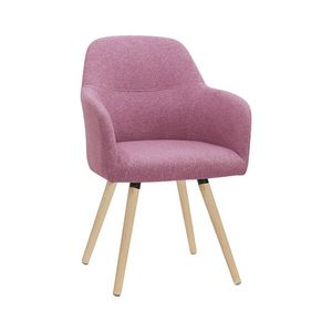5331, Modern chair with wooden legs
