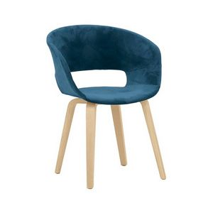 6851, Chair with enveloping shell