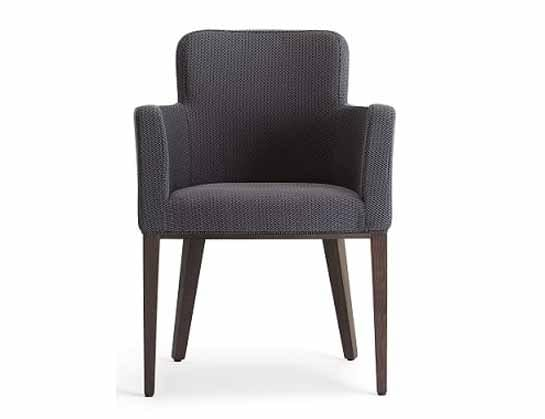 Ada-P1, Upholstered armchair for hotels