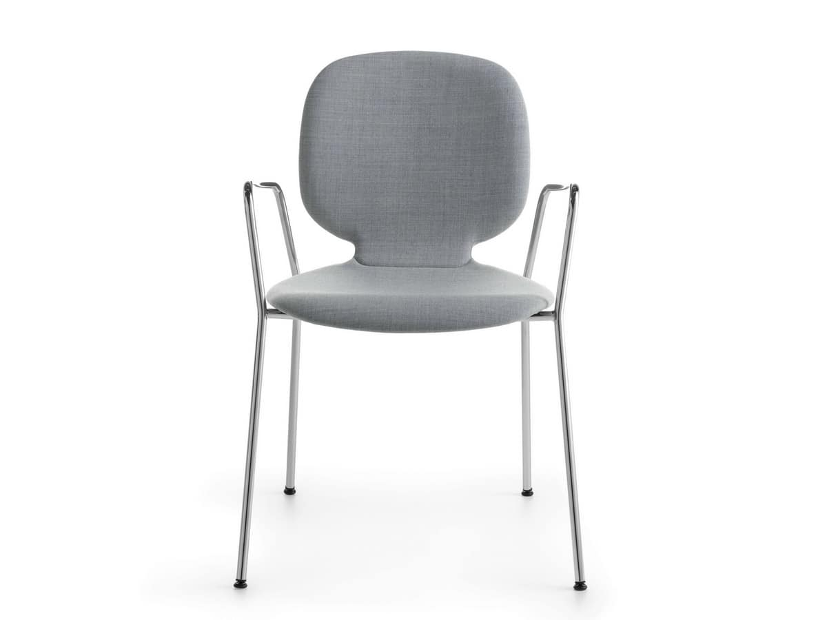 Alis P 4L/FU, Padded stackable armchair