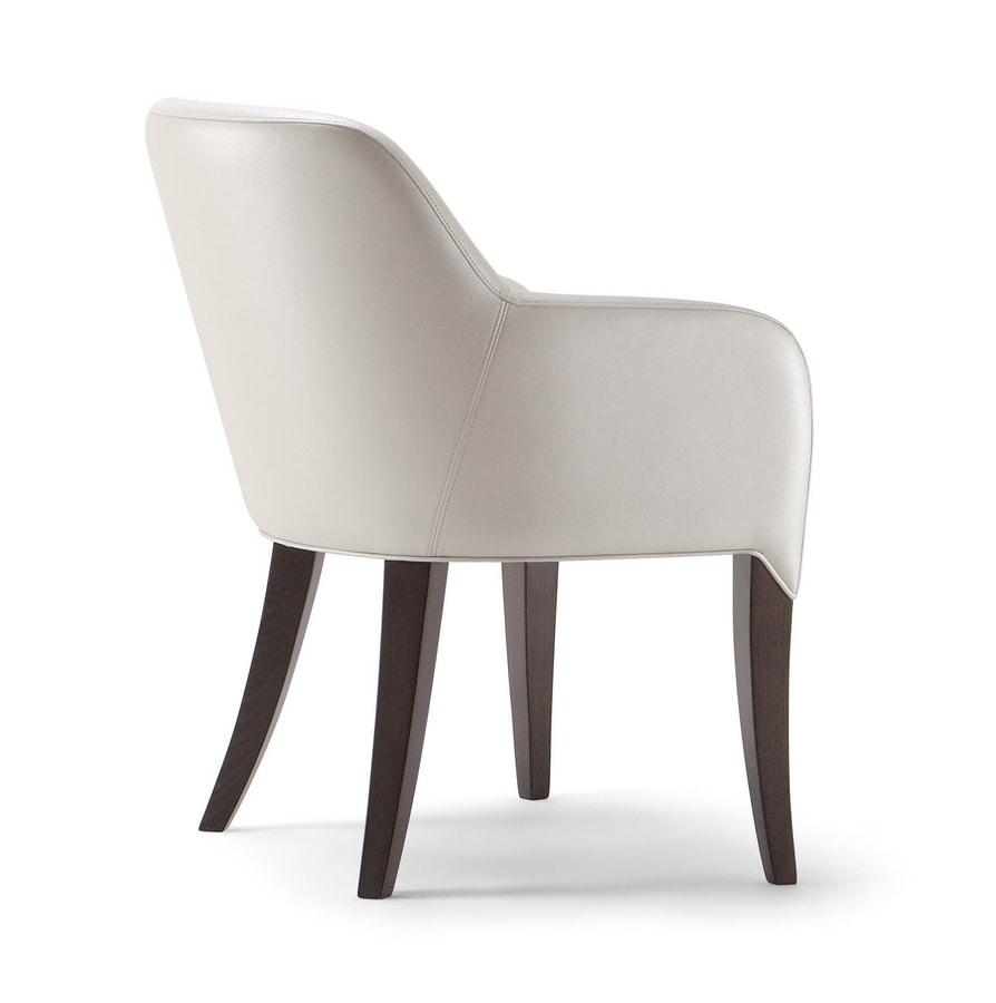 ALYSON ARMCHAIR 048 PO, Upholstered small armchair