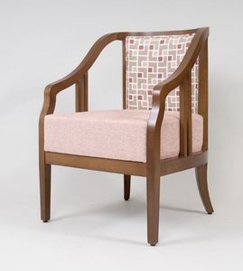 BS502A - Armchair, Armchair in beech wood