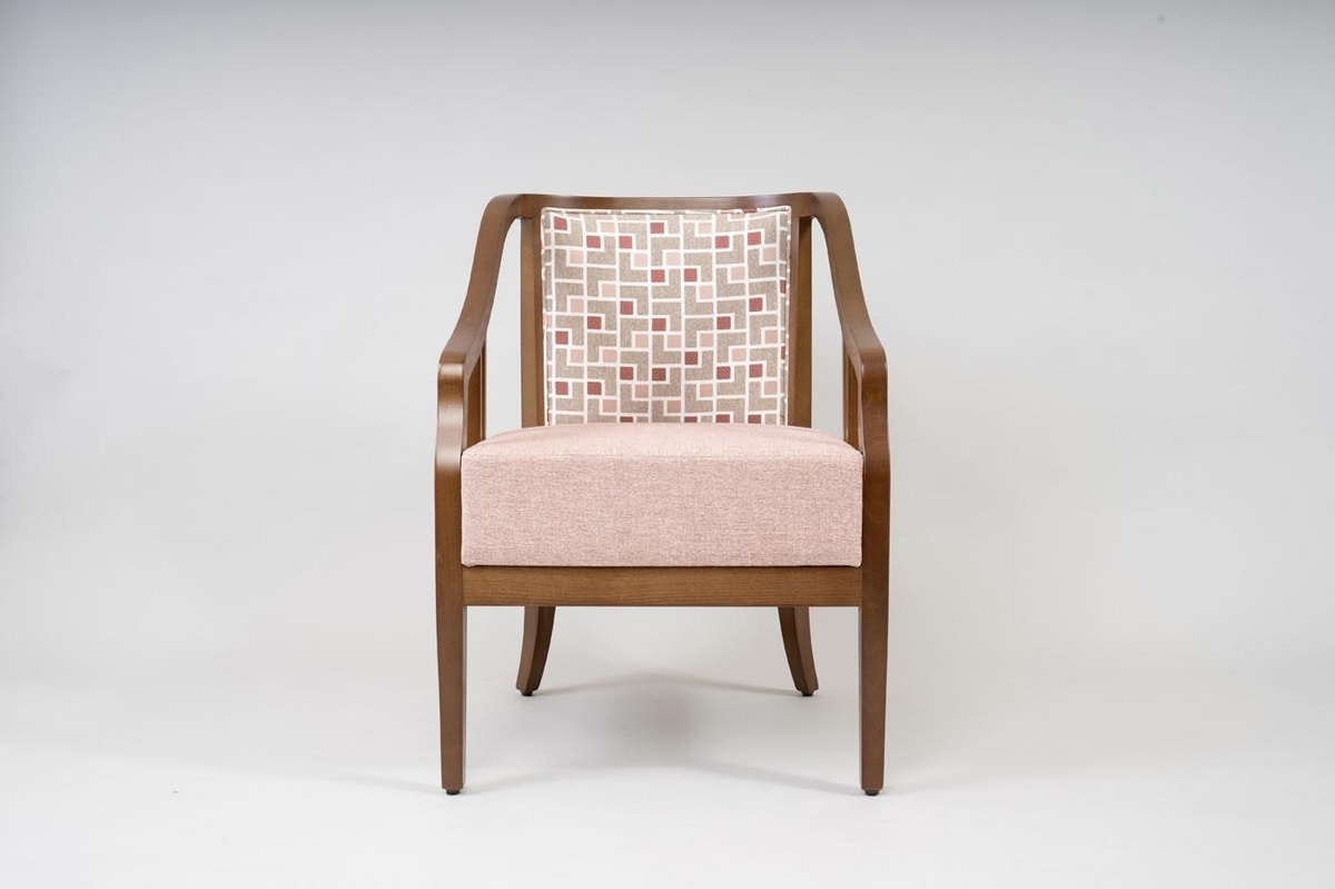 BS502A - Armchair, Armchair in beech wood