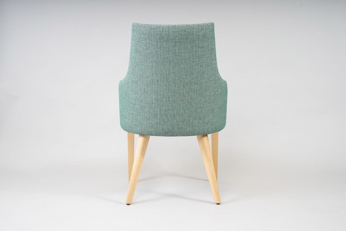BS525A - Chair, Padded chair for hotels