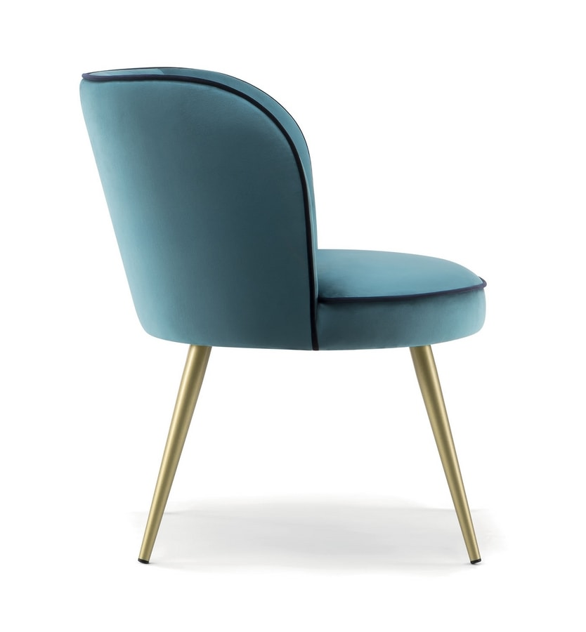 CANDY LOUNGE CHAIR 061 POL, Armchair with a contemporary design
