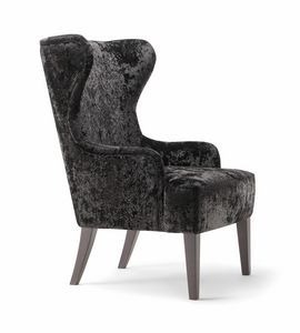 CESARE LOUNGE CHAIR 059 P, Bergere armchair