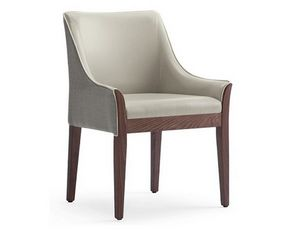 Cleo-P1, Upholstered armchair for hotels