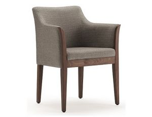 Cleo-P2, Elegant armchair for hotel