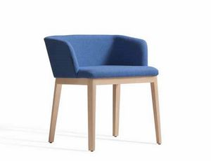 Concord 521BM, Upholstered armchair with wooden structure