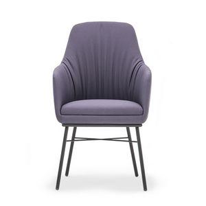 Danielle 03636, Small armchair with high backrest