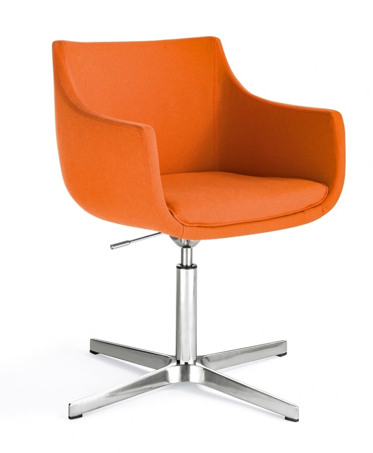 Day&Night Plus, Swivel armchair for waiting rooms