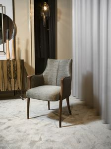DEMETRA small armchair GEA Collection, Comfortable upholstered small armchair