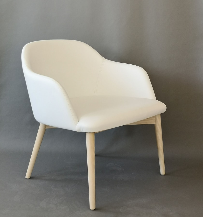 Emma lounge, Padded lounge chair