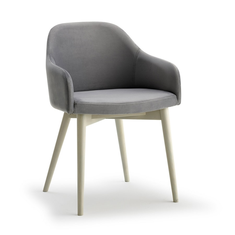 Emma P, Chair with ash legs