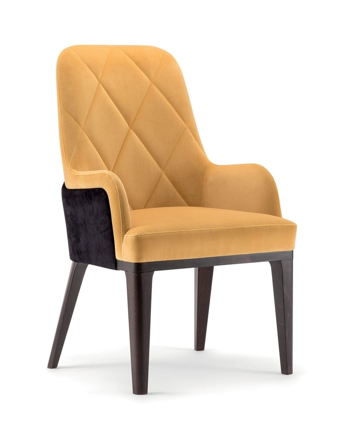 GILL HIGH BACK CHAIR 070 PL, Armchair with high back