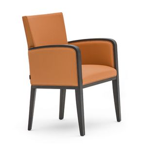 Logica 00931, Small armchair ideal for hotel and restaurants