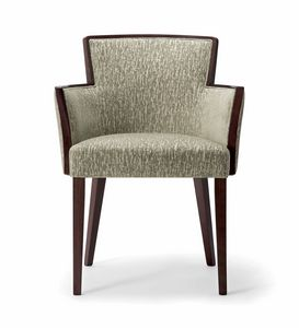LONDON SIDE CHAIR 016 SA, Armchair for restaurant and hotel
