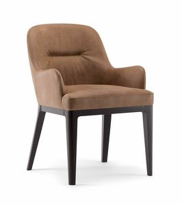 LOTUS ARMCHAIR 063 PO, Armchair ideal for contract use