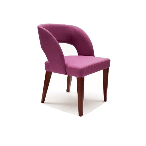 Melody, Armchair with an enveloping design