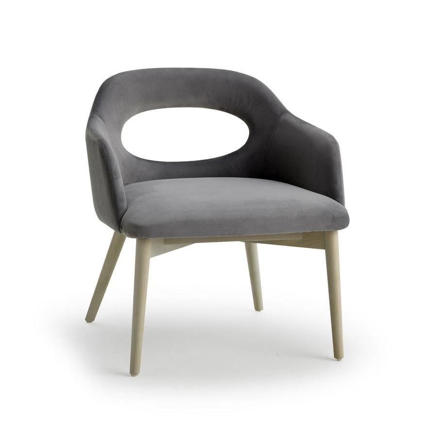 Mirò lounge, Modern lounge chair