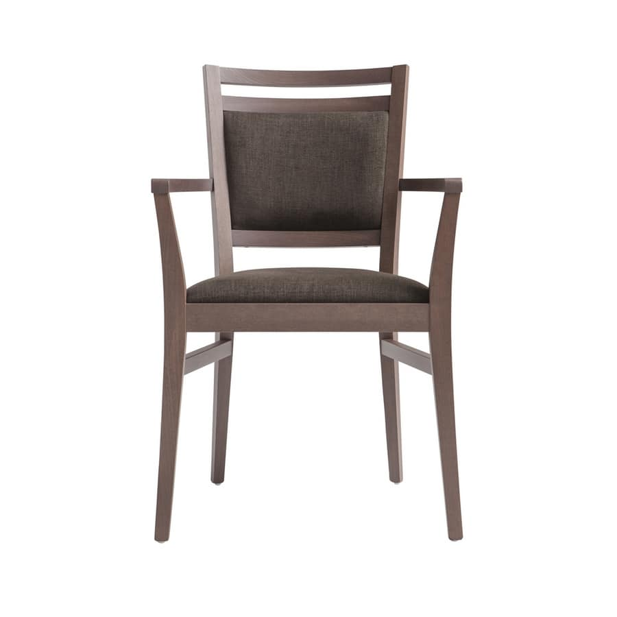 MP472CP, Chair with armrests for contract use