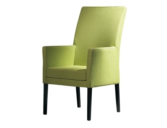 Nada 506, Armchair in wood with high back