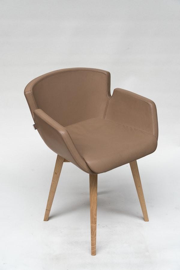 NUBIA 2900U, Armchair with comfortable fireproof padding